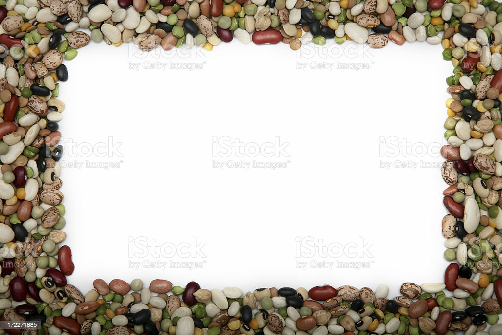 Bean Assortment royalty-free stock photo