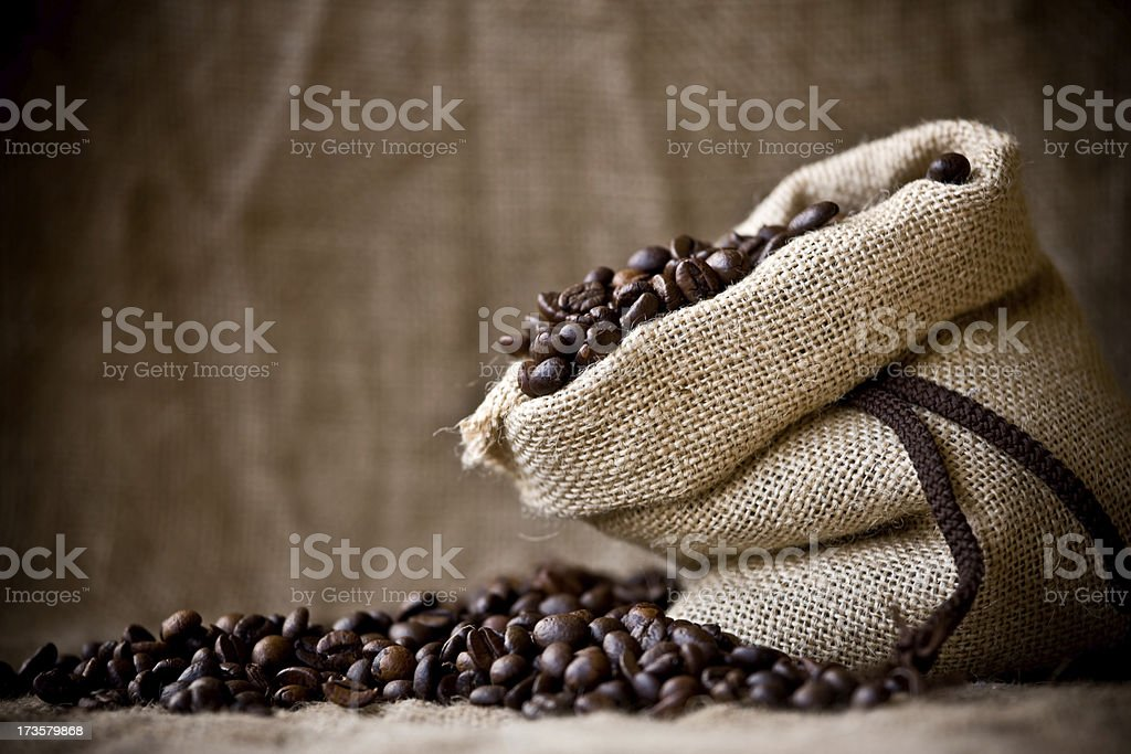 Bean coffee royalty-free stock photo