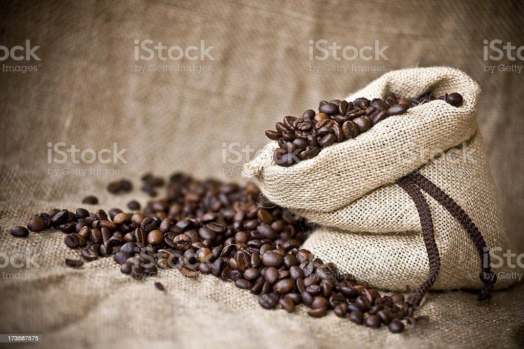 Bean coffee royalty-free stock photo