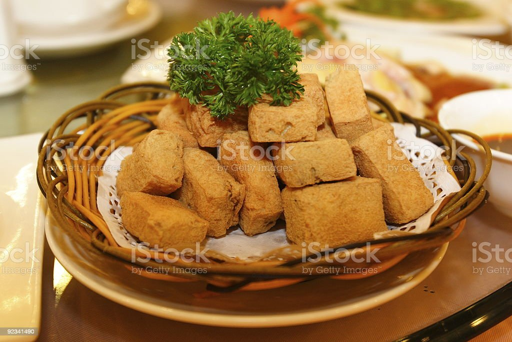 Bean Curd with Odor stock photo