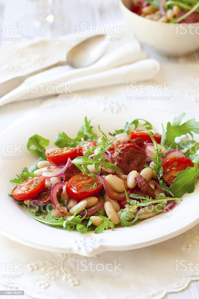 bean salad royalty-free stock photo