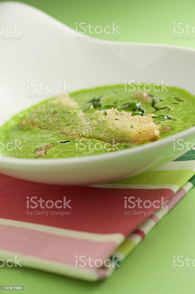 Soupe de haricots noirs photo libre de droits