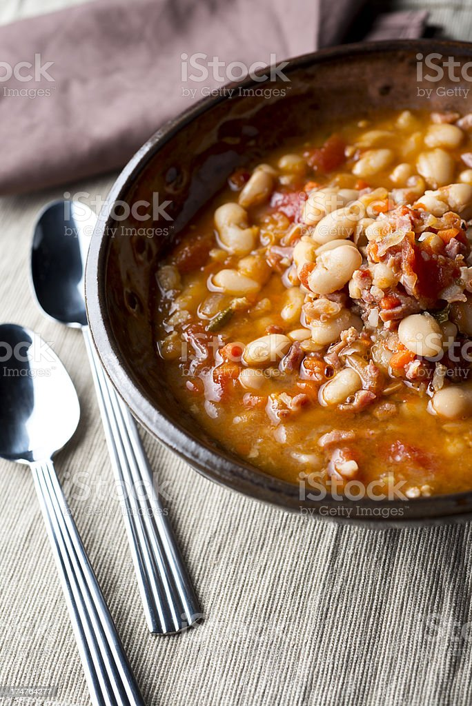 Bean Soup royalty-free stock photo