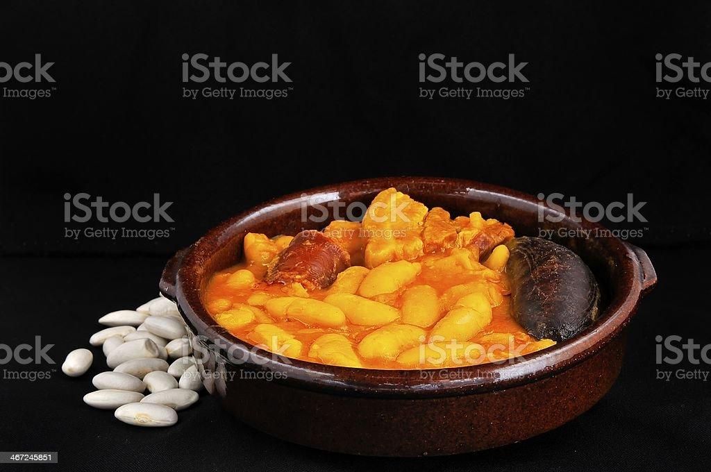 Bean stew. stock photo