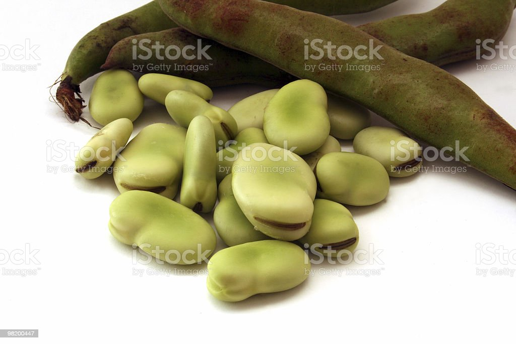 Beans and pods royalty-free stock photo