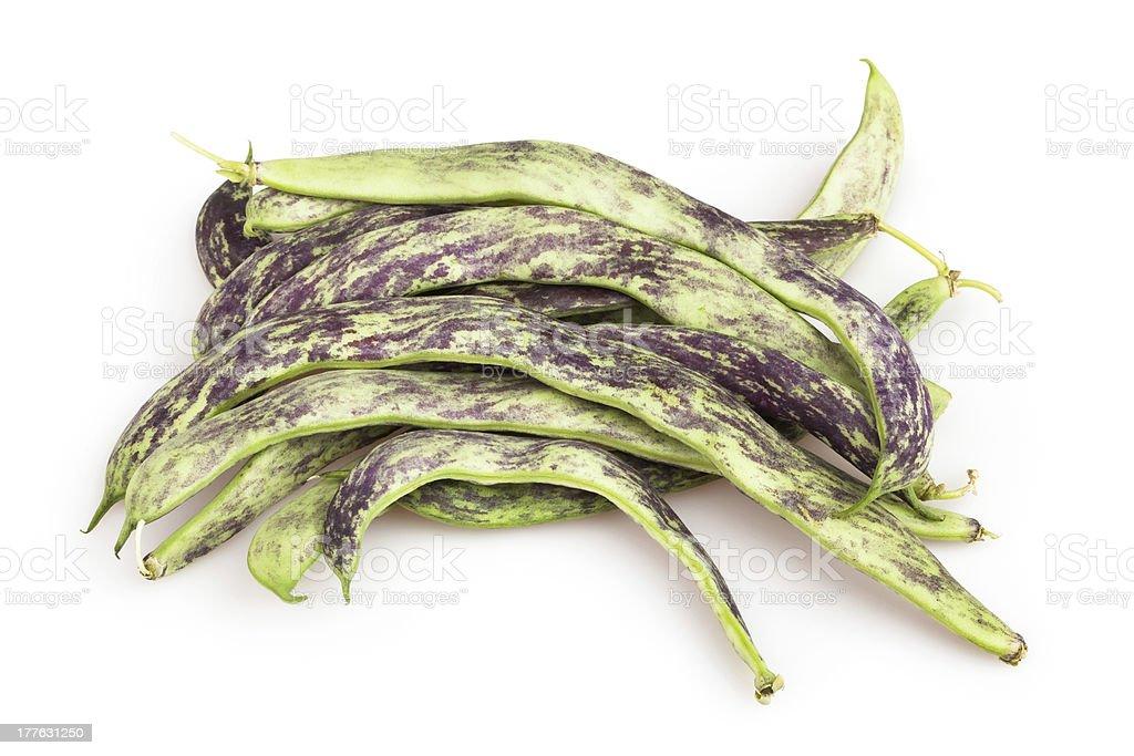 beans flat heap royalty-free stock photo