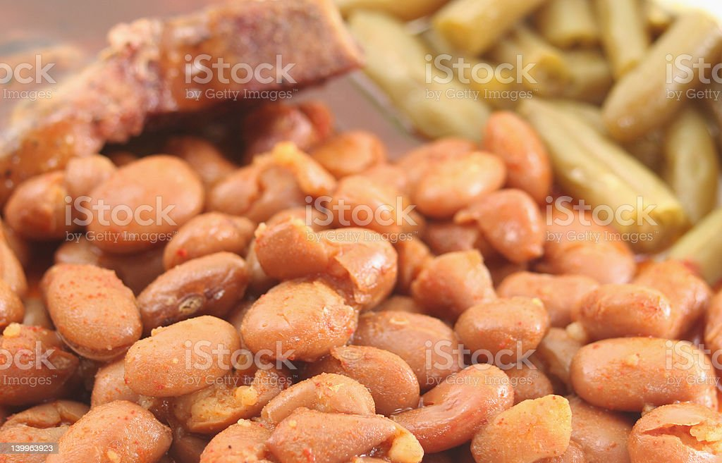 Beans royalty-free stock photo