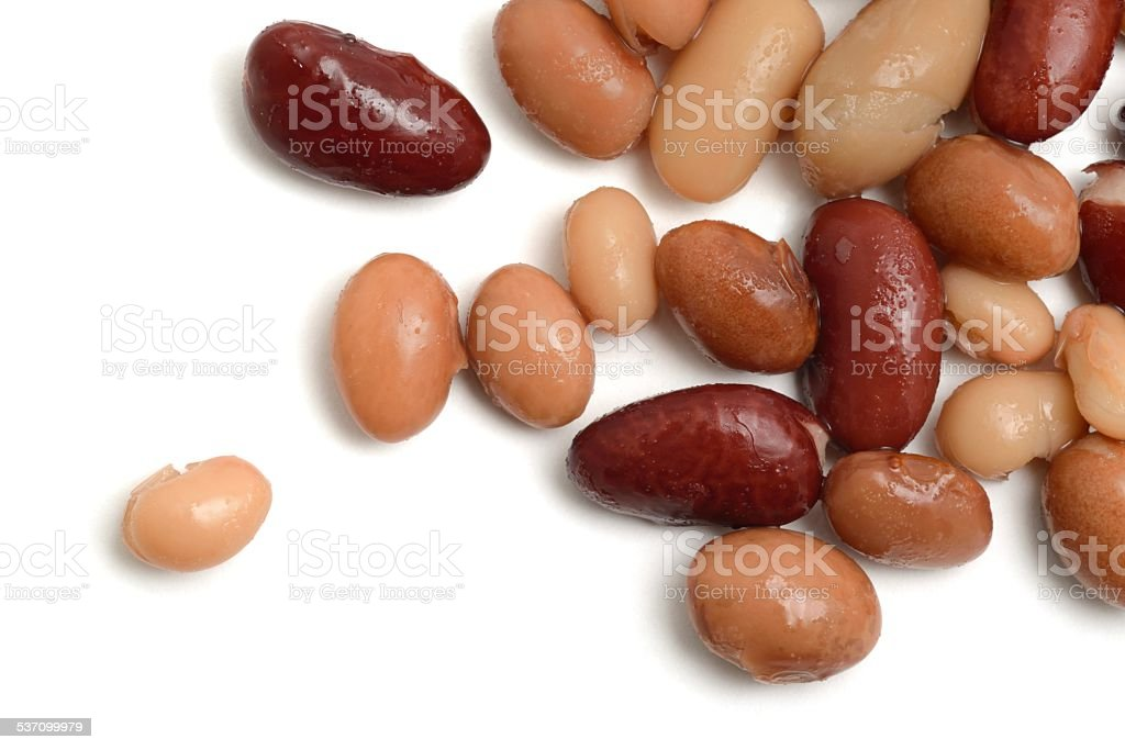 Beans Scattered stock photo