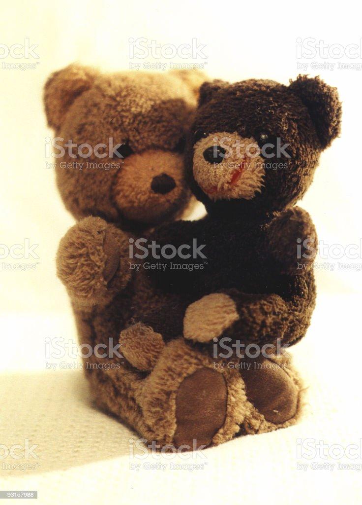 Bear Buddies stock photo