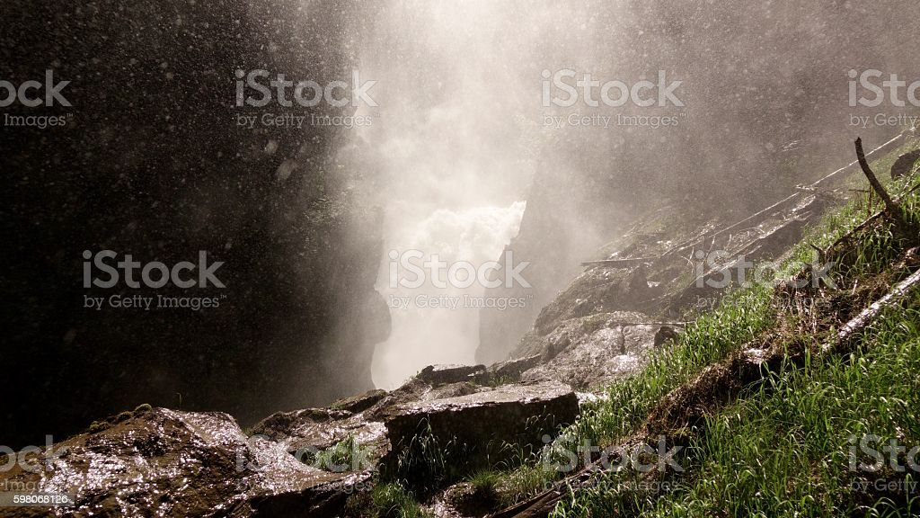 Bear Creek Falls stock photo