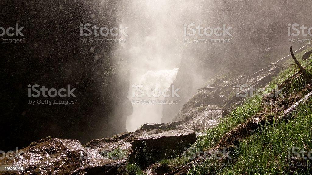 Bear Creek Falls stock photo