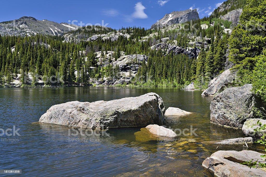 Bear Lake, Colorado royalty-free stock photo