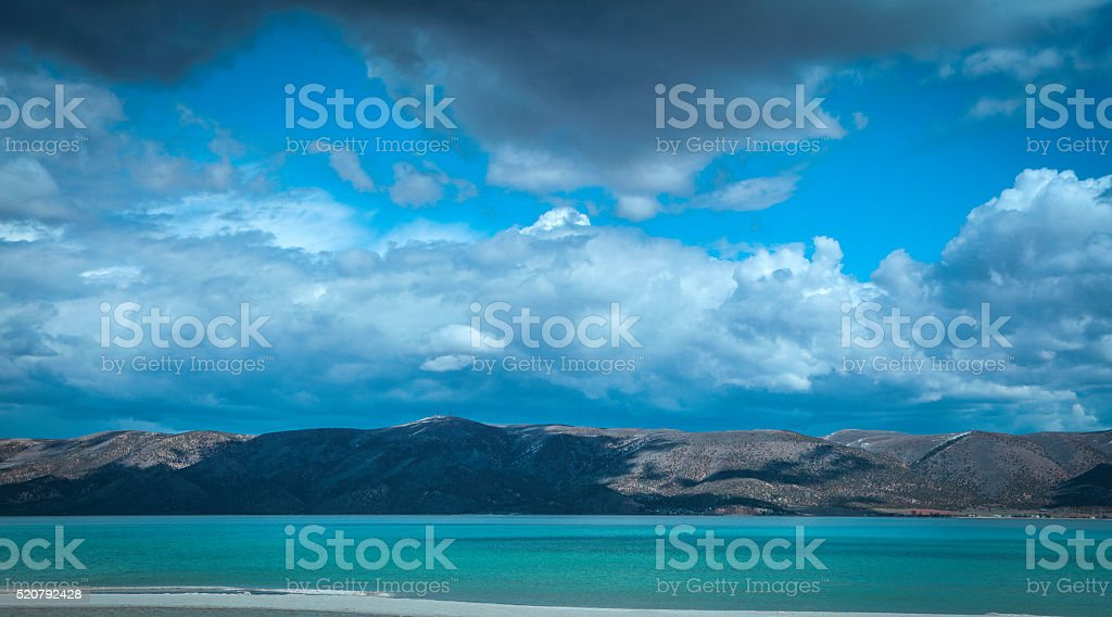 Bear Lake Utah stock photo