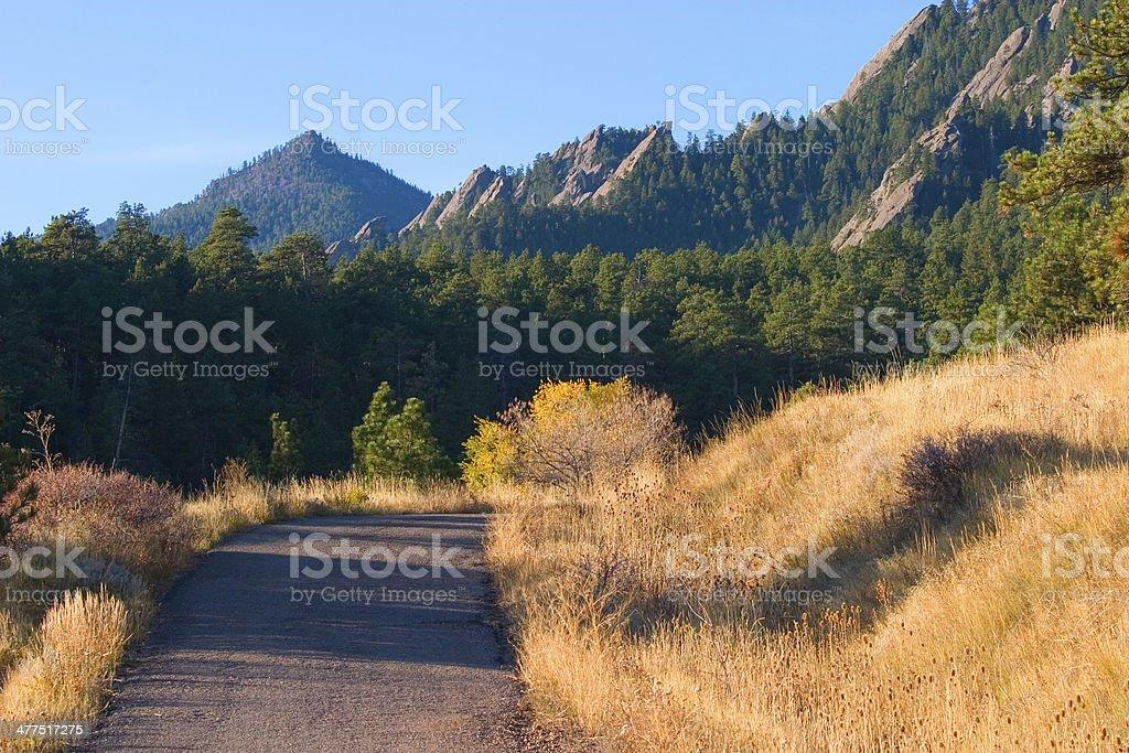 Bear Peak stock photo