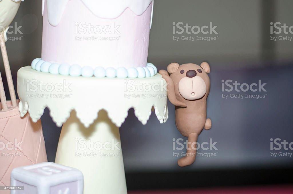 Bear pendant royalty-free stock photo