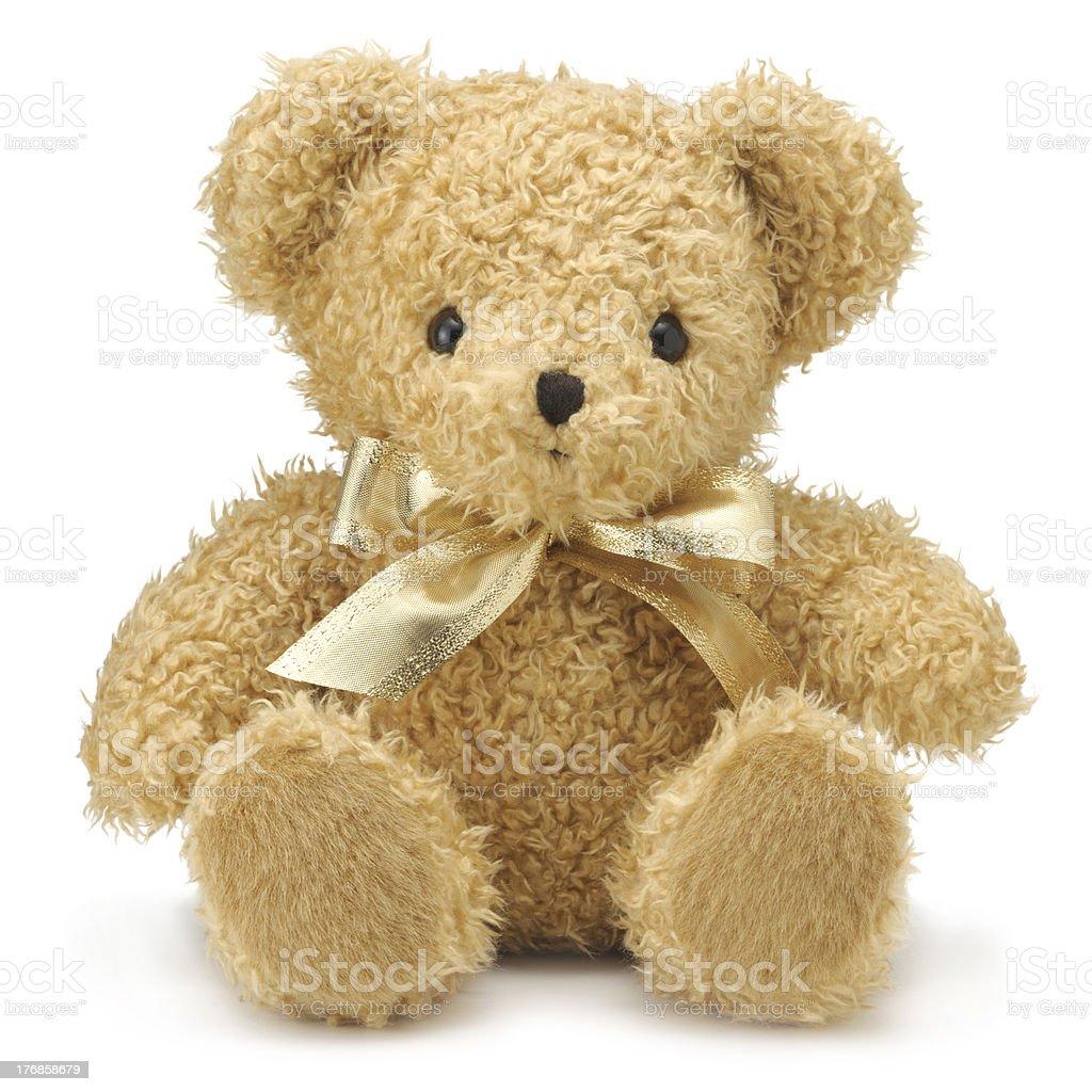 Bear Rug Doll Stock Photo