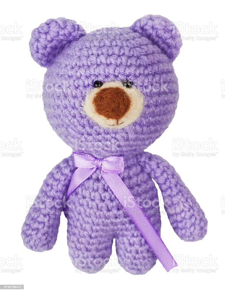 bear toy isolated on white background stock photo