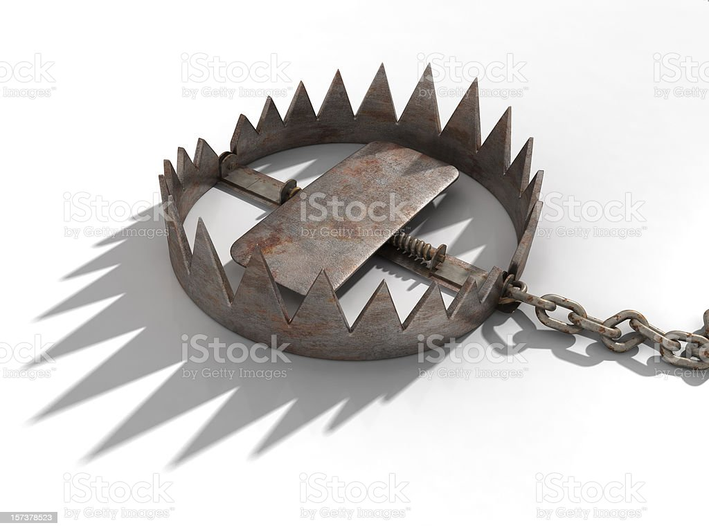 Bear Trap stock photo