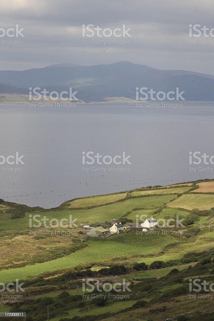 Beara from Sheeps Head Penisula, Ireland royalty-free stock photo