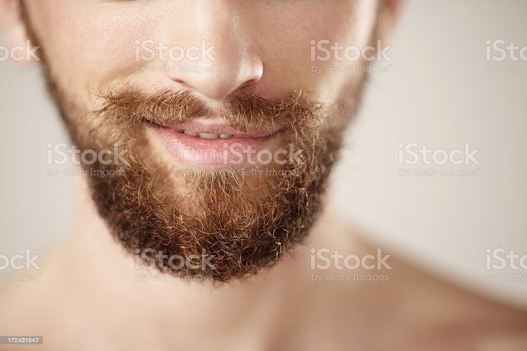Beard royalty-free stock photo