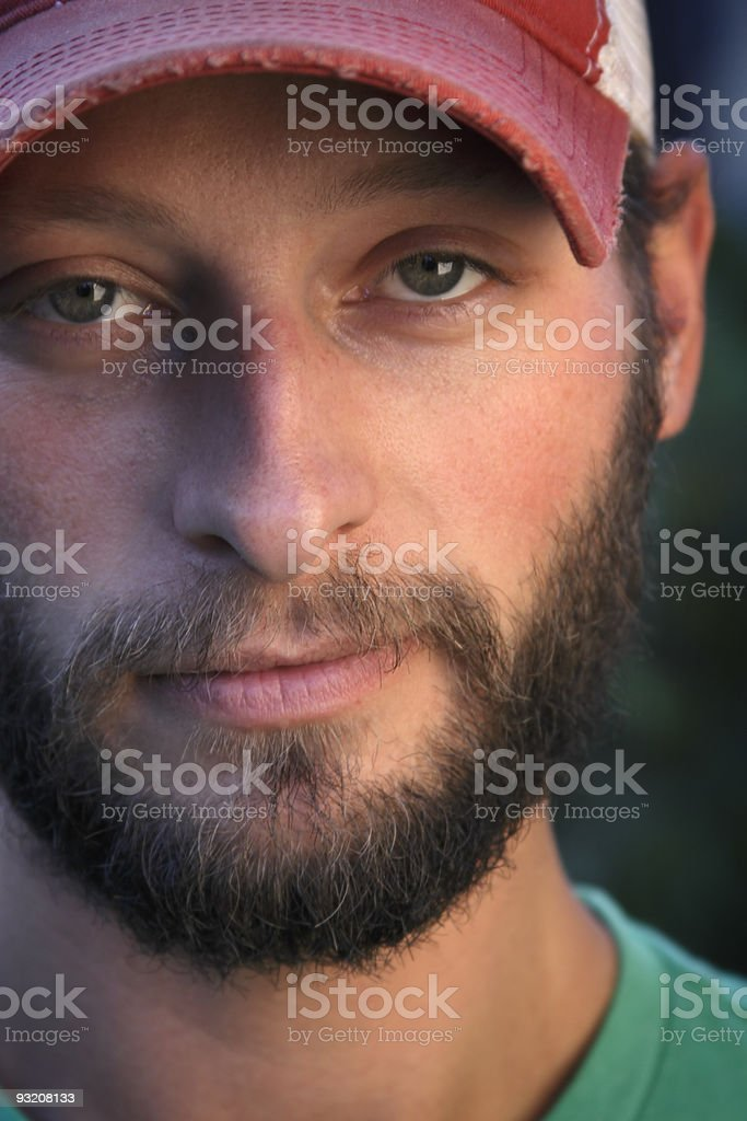 Bearded man royalty-free stock photo