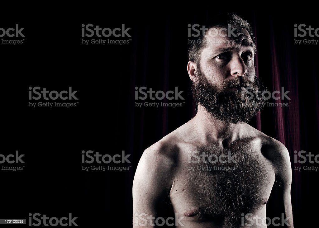 Bearded Portrait stock photo