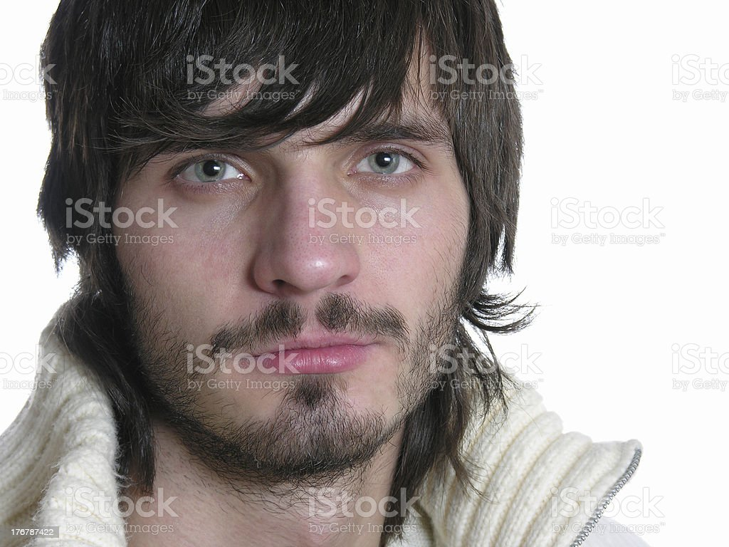 beardman 2 stock photo