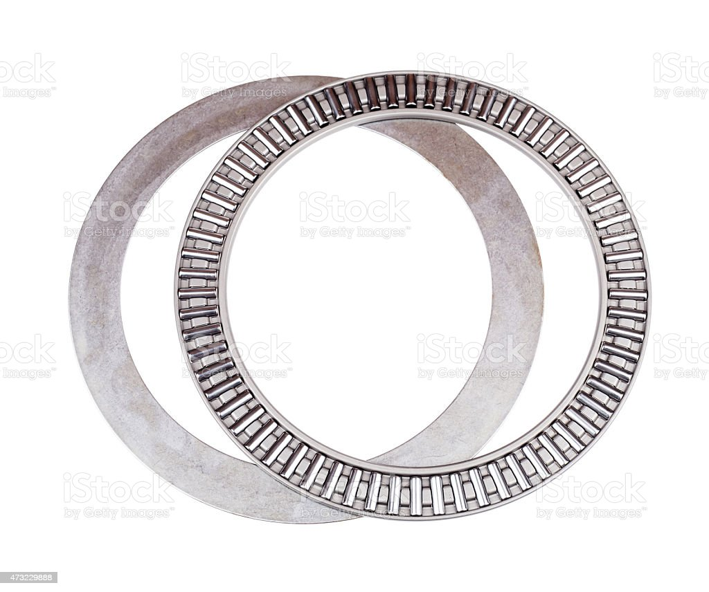 Bearing for industry on the white background stock photo