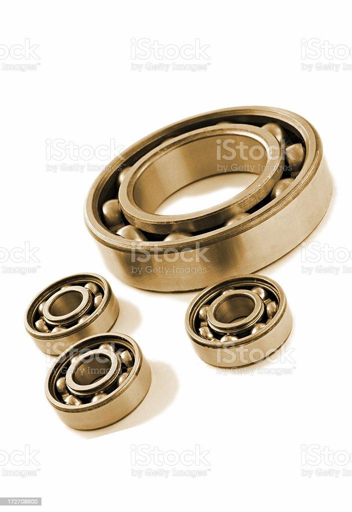 bearings on white royalty-free stock photo