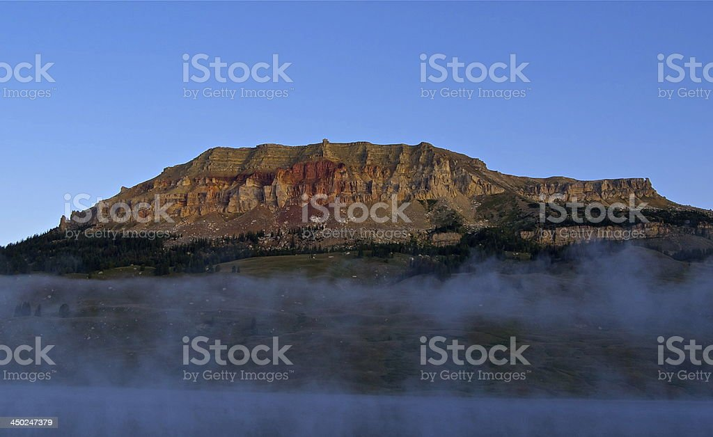 Beartooth Butte's Natural Mystic stock photo