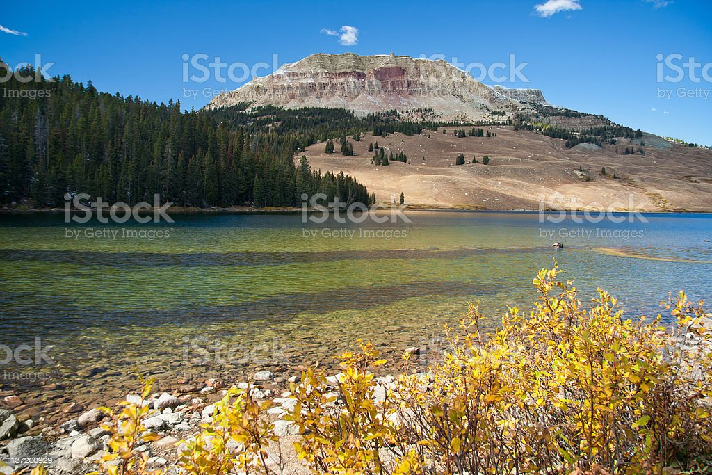 Beartooth Lake, Montana, USA royalty-free stock photo