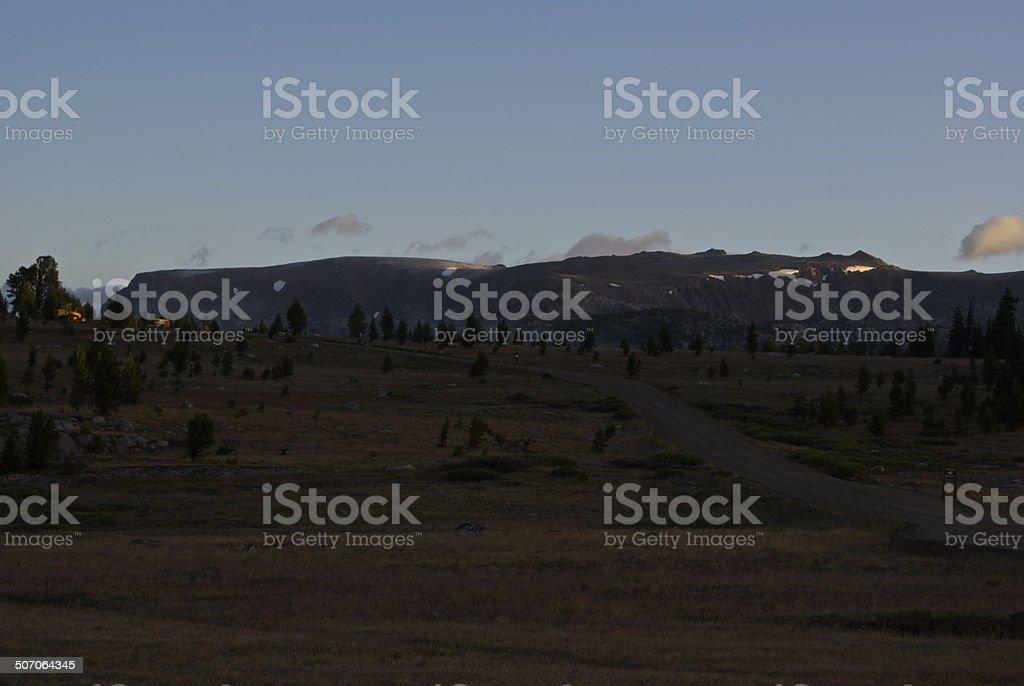 Beartooth Plateau Scene stock photo