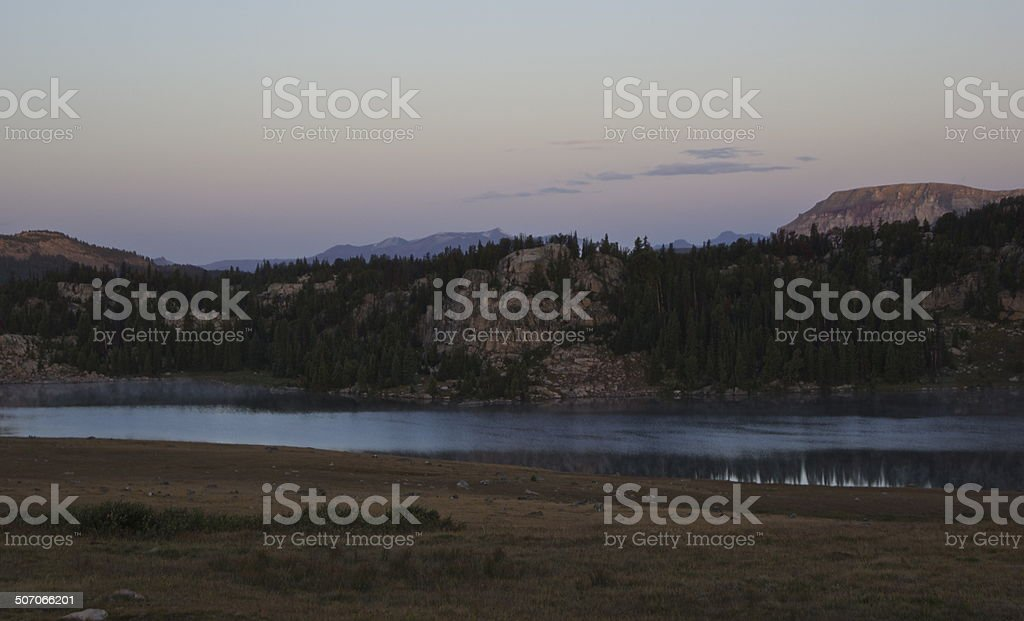 Beartooth Wilderness Lake stock photo
