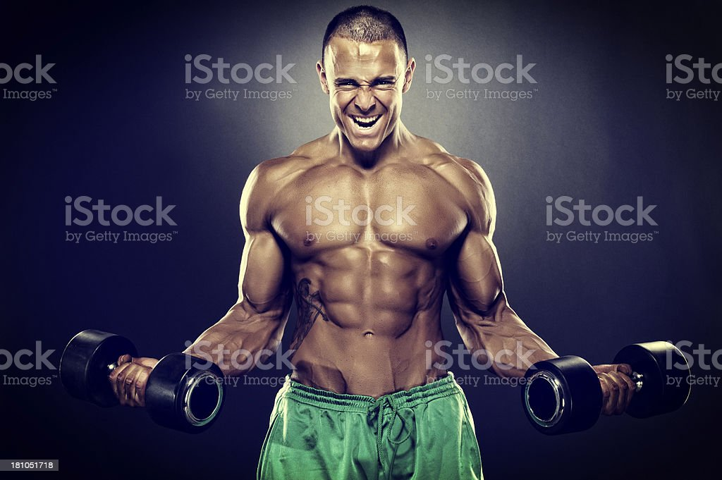 Beast Mode stock photo