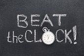 beat the clock watch