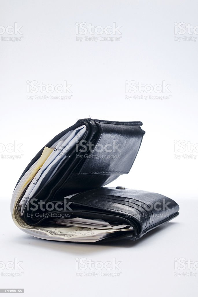 Beaten Dollar Series royalty-free stock photo