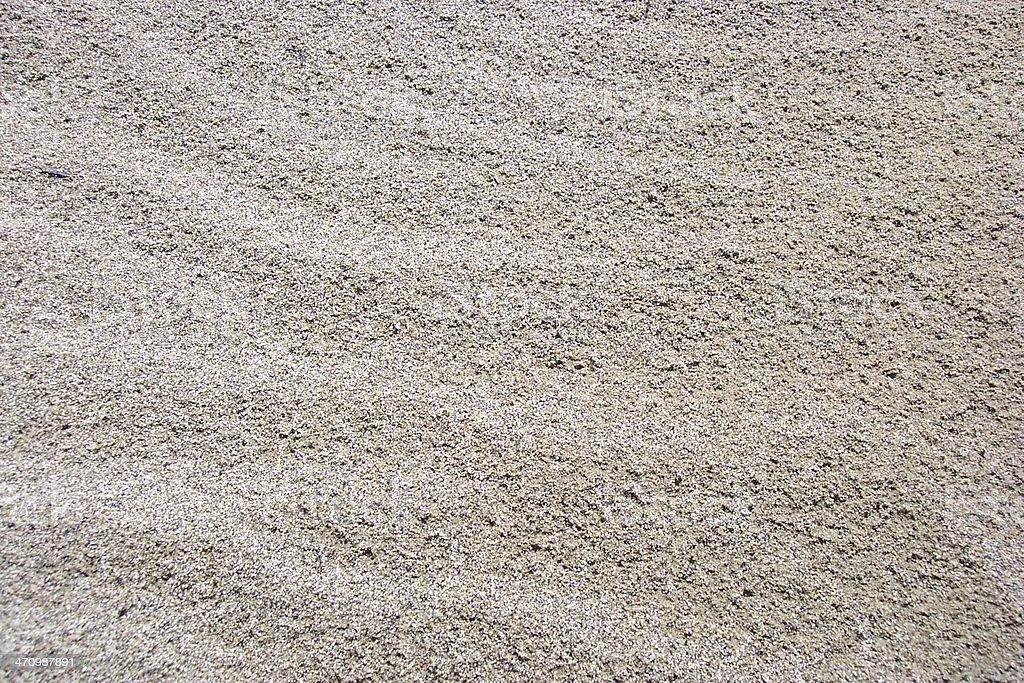 Beaten Sand stock photo