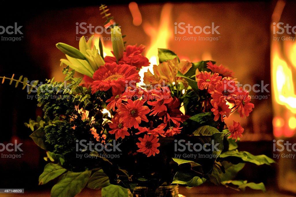 Beatiful Flower Bouquet stock photo