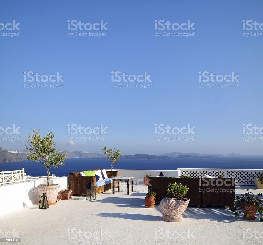 Beatiful House and Seascape - XXLarge royalty-free stock photo