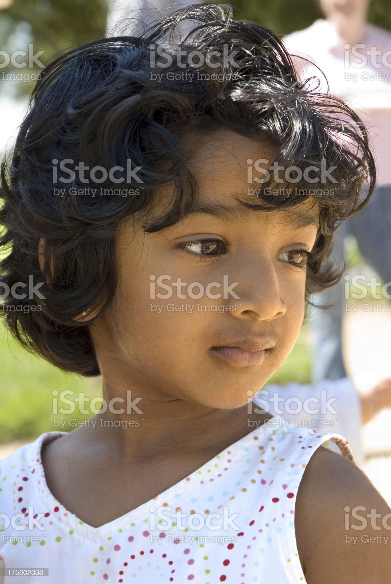 Beatiful Little Indian Girl royalty-free stock photo