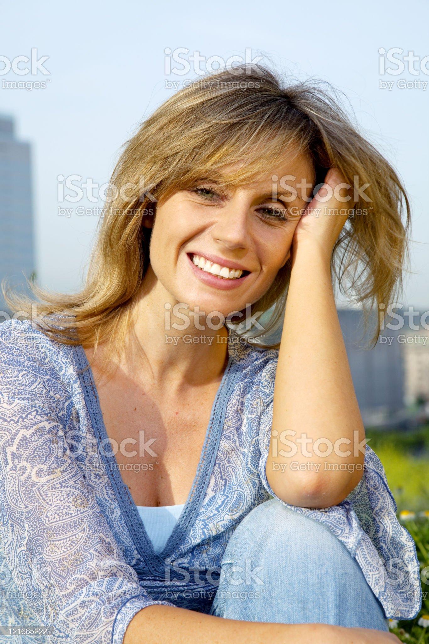 Beatiful woman royalty-free stock photo