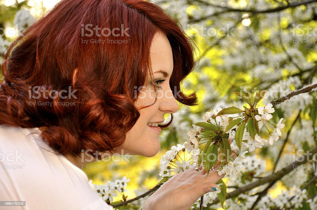 Beatiful woman royalty-free stock photo