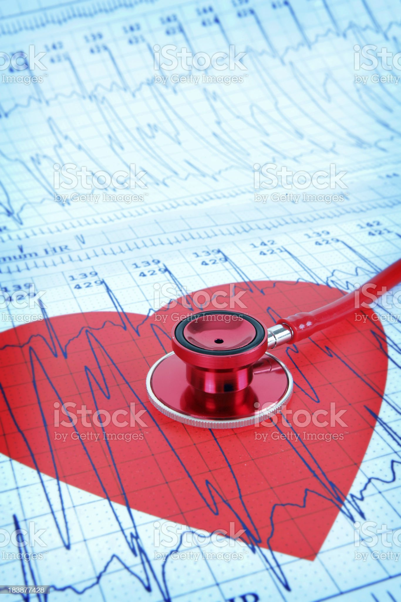 Beating Heart royalty-free stock photo