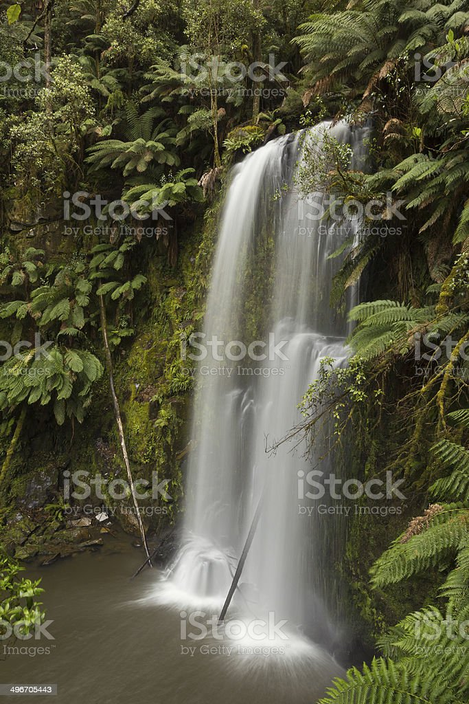 Beauchamp Waterfall stock photo