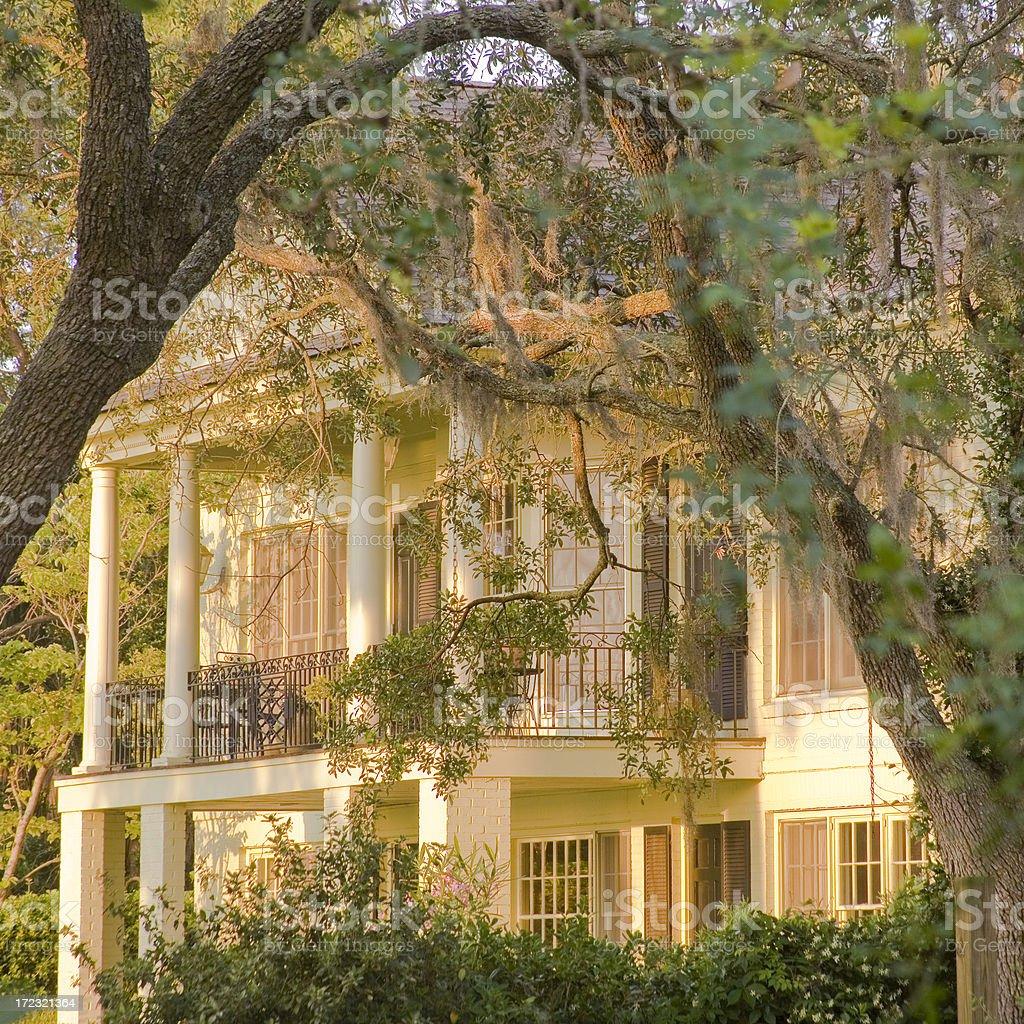 Beaufort SC: Historic Homes stock photo