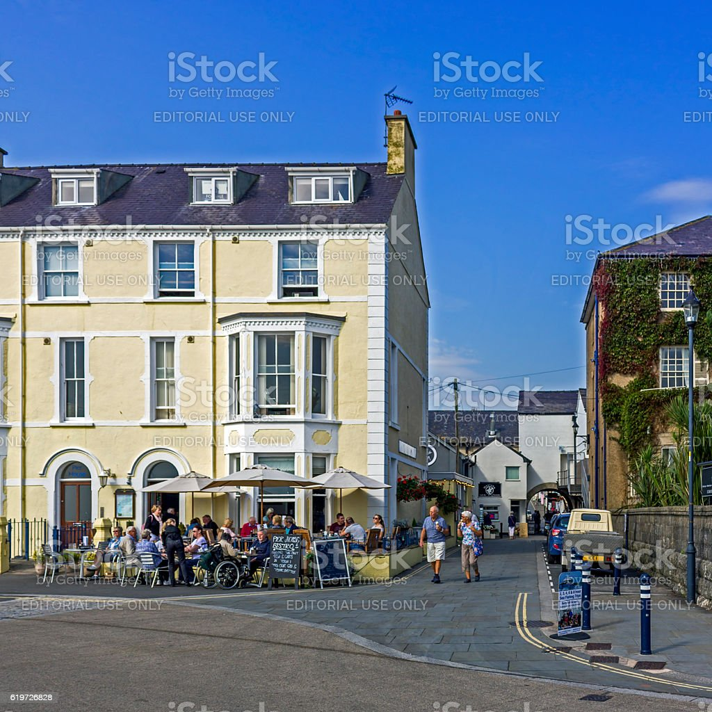 Beaumaris Anglesey stock photo