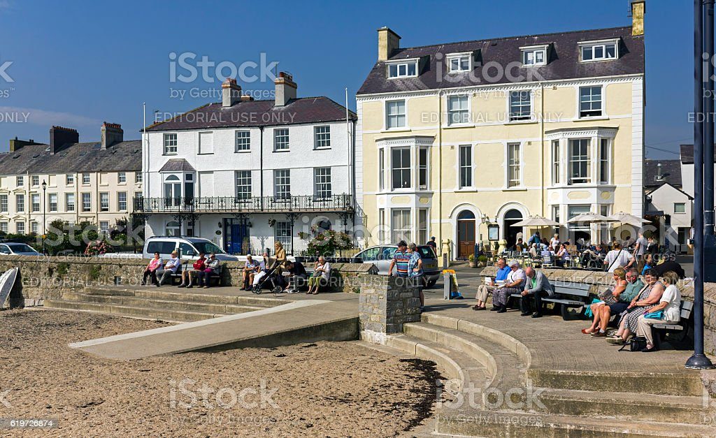 Beaumaris Anglesey stock photo