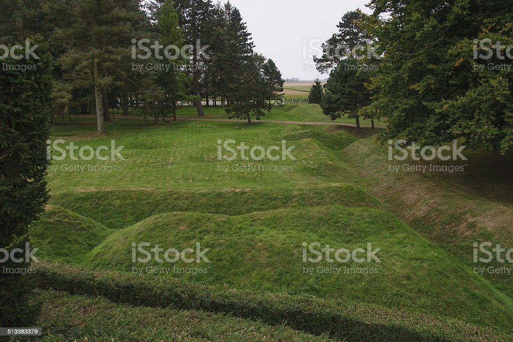 Beaumont-Hamel Newfoundland Memorial stock photo