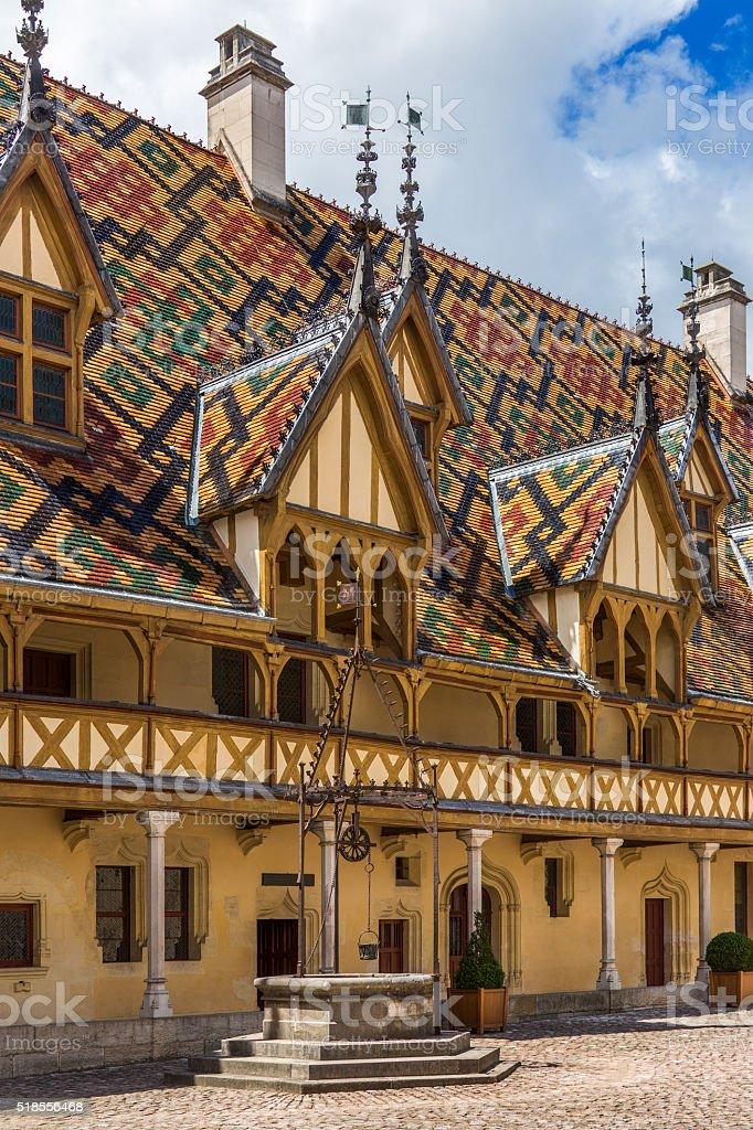 Beaune - Burgundy - France stock photo