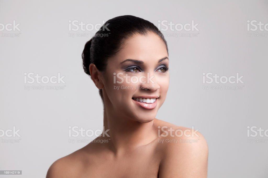 Beautfiul smile royalty-free stock photo